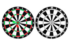 Dart go to taget Royalty Free Stock Photography