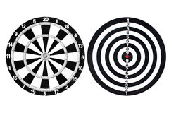 Dart go to taget Stock Image