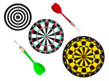 Dart go to target Stock Photography