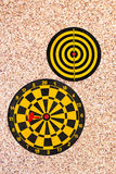 Dart go to target Royalty Free Stock Images