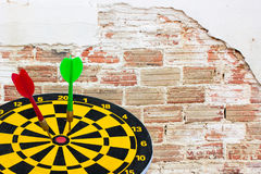 Dart go to target Stock Images