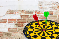 Dart go to target Stock Photos