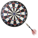 Dart going blank royalty free stock photos