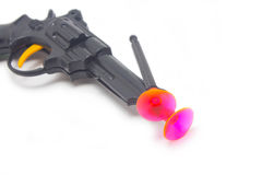 Dart Gun With Two Darts. Royalty Free Stock Images