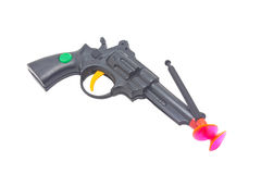 Dart Gun With Two Darts. Royalty Free Stock Photo