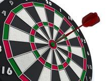 Dart hits target Royalty Free Stock Photos