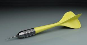 dart kolor żółty Fotografia Stock