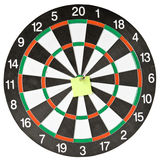 Dart and note Royalty Free Stock Images