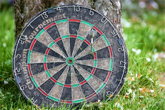 Dart plate Royalty Free Stock Photo