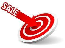 Dart Sale Royalty Free Stock Photos