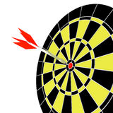 Dart and target Royalty Free Stock Photo