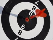 Dart target aim Royalty Free Stock Photo
