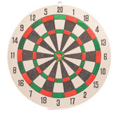 Dart target with arrows Royalty Free Stock Photography