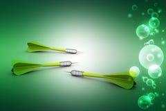 Dart Target arrows, Success Business Concept Stock Photos