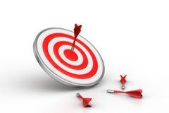 Dart Target arrows, Success Business Concept Stock Photography