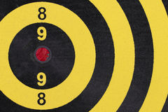 Dart target board, abstract of success. Royalty Free Stock Photography