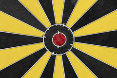 Dart target board, abstract of success. Royalty Free Stock Photos