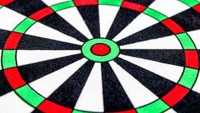 Dart target Close up Stock Image
