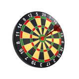 Dart on target Royalty Free Stock Images