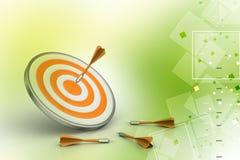 Dart Target Success Business Concept Stock Photo