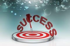 Dart Target Success Business Concept Royalty Free Stock Photos