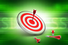 Dart Target Success Business Concept Royalty Free Stock Photography