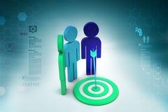 Dart Target Success Business Concept Stock Image