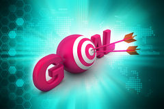Dart Target Success Business Concept Royalty Free Stock Images