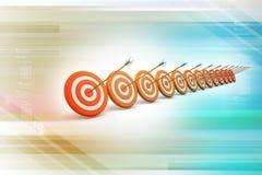 Dart Target Success Business Concept Stock Photography