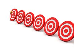 Dart Target Success Business Concept Royalty Free Stock Image