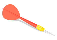 Dart on white Royalty Free Stock Photography