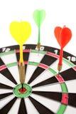 dartboard βέλη Στοκ φωτογραφίες με δικαίωμα ελεύθερης χρήσης