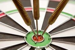 dartboard βέλη Στοκ εικόνα με δικαίωμα ελεύθερης χρήσης