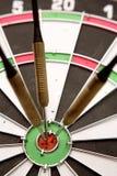 dartboard βέλη Στοκ φωτογραφία με δικαίωμα ελεύθερης χρήσης