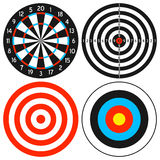 dartboard θέστε το στόχο Στοκ Εικόνα