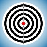 Dartboard_02 Stock Images