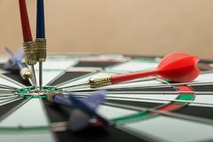 dartboard Imagens de Stock Royalty Free