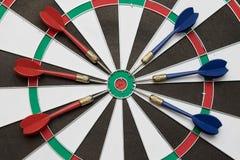 dartboard Lizenzfreie Stockfotos