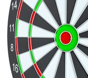 Dartboard, Stock Illustratie