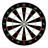Dartboard Royalty-vrije Stock Afbeelding