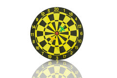 The dartboard. Royalty Free Stock Images