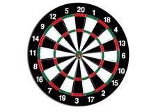 Dartboard royalty-vrije stock afbeeldingen