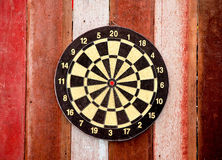 The Dartboard Stock Photo