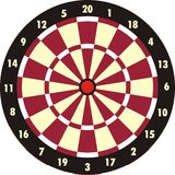 Dartboard Royalty-vrije Stock Fotografie