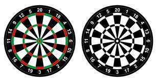 Dartboard Stock Foto