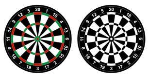 Dartboard διανυσματική απεικόνιση