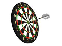 Dartboard. To strive for a goal Royalty Free Stock Photography