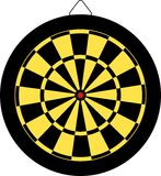 Dartboard royalty free illustration