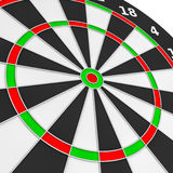 dartboard Illustration Stock