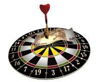 Dartboard Royalty-vrije Stock Foto